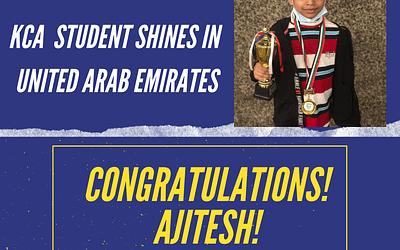 congratulations! Ajitesh!